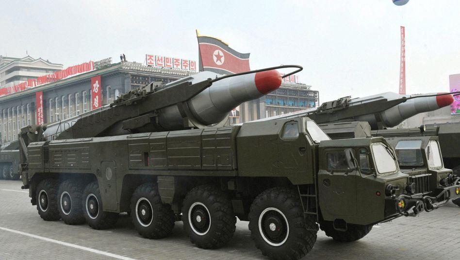 Gefährliche Drohung: Nordkorea spricht vom möglichen Einsatz von Atomwaffen