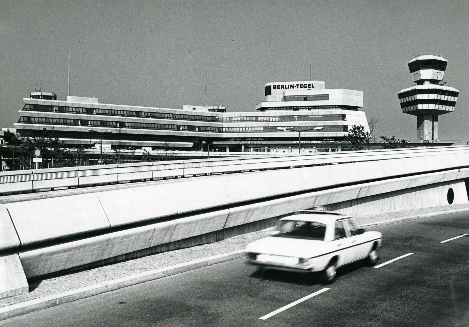 Flughafen Berlin-Tegel TXL 70er Jahre