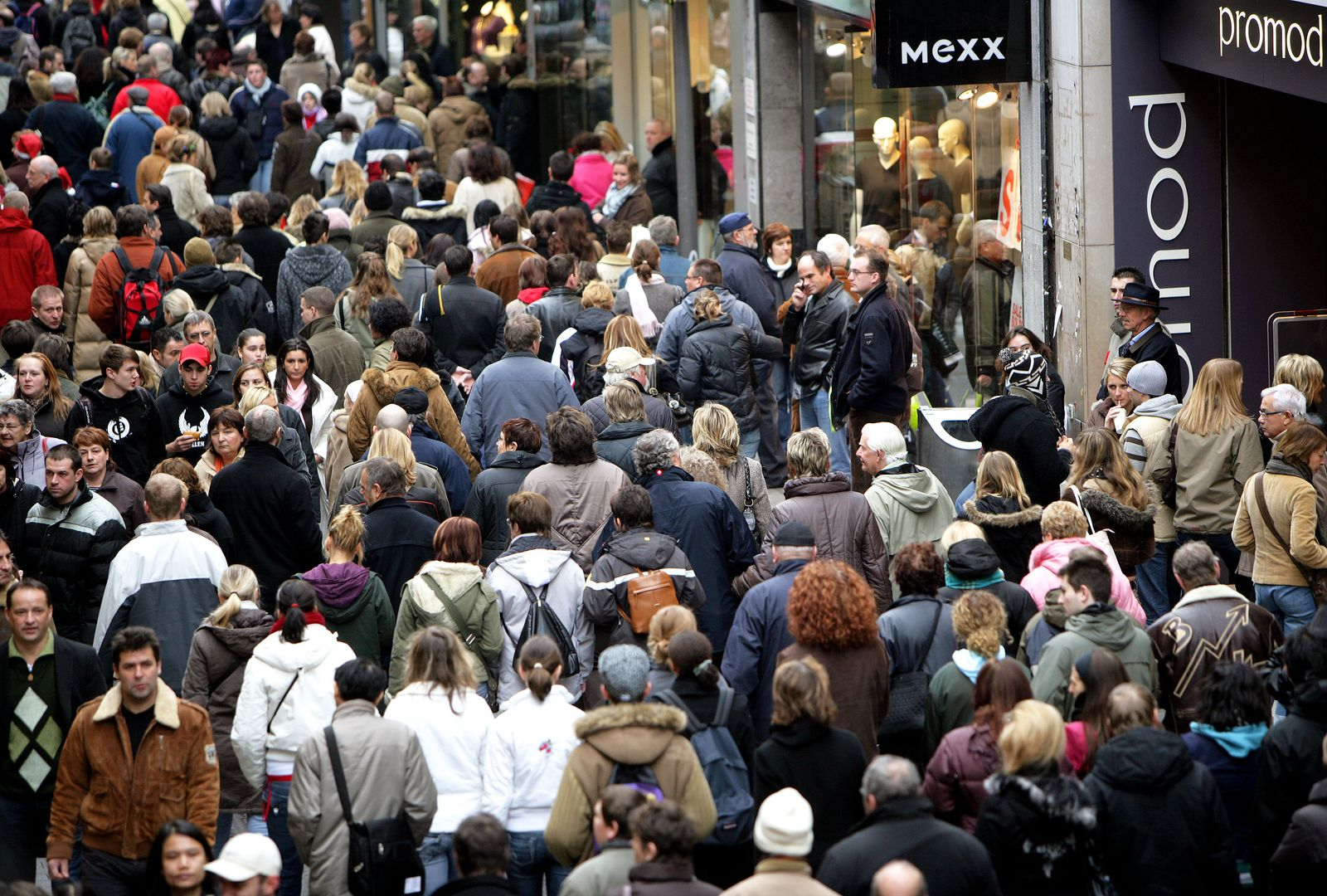 Deutschland / Konjunktur / Einzelhandel / Aufschwung / Verbraucher / Einkaufen / Shoppen / Passanten / Konsum / Zuwanderung / Zuwanderer / Verbraucher / Steuer / Steuerschätzung