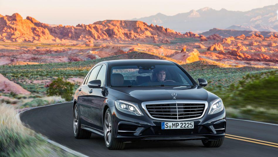 Hohe Erwartungen: Daimler-Chef Dieter Zetsche hat einen Erfolg des Vorzeigemodells S-Klasse fest eingeplant