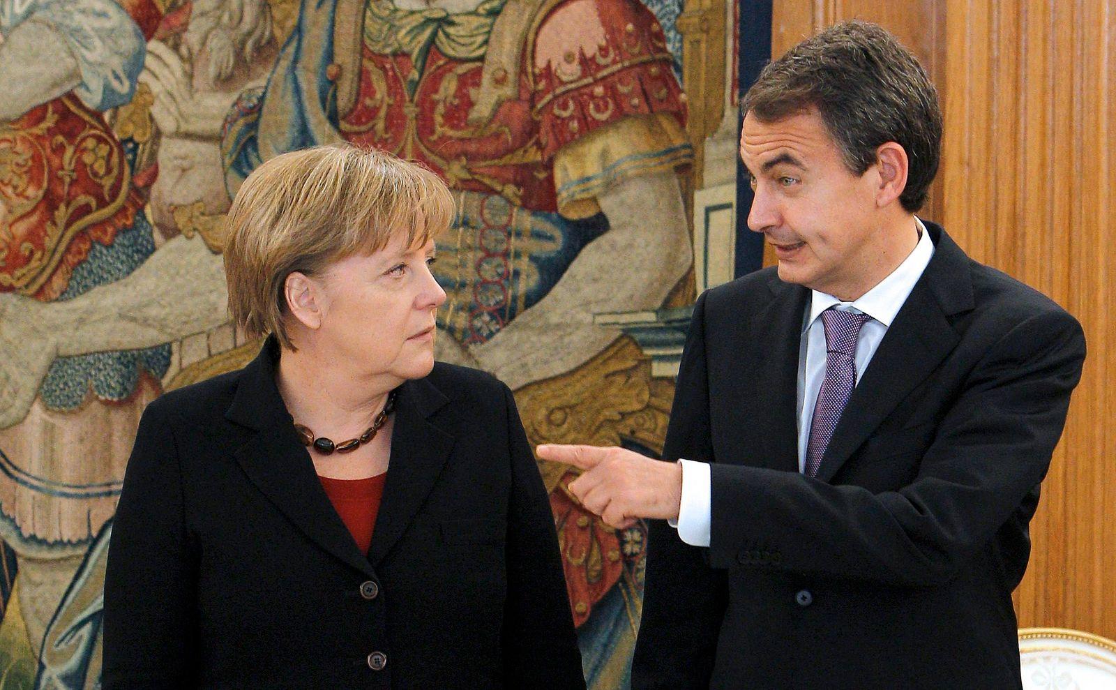 Zapatero / Merkel