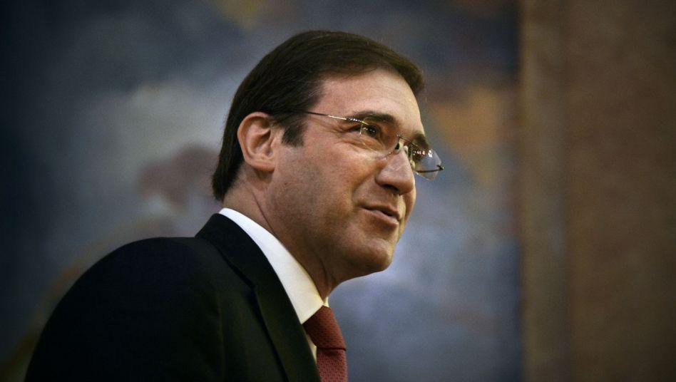 Sein Sparkurs findet im Parlament keine Gefolgschaft mehr: Portugals Ministerpräsident Pedro Passos Coelho wurde von einem Linksbündnis gestürzt