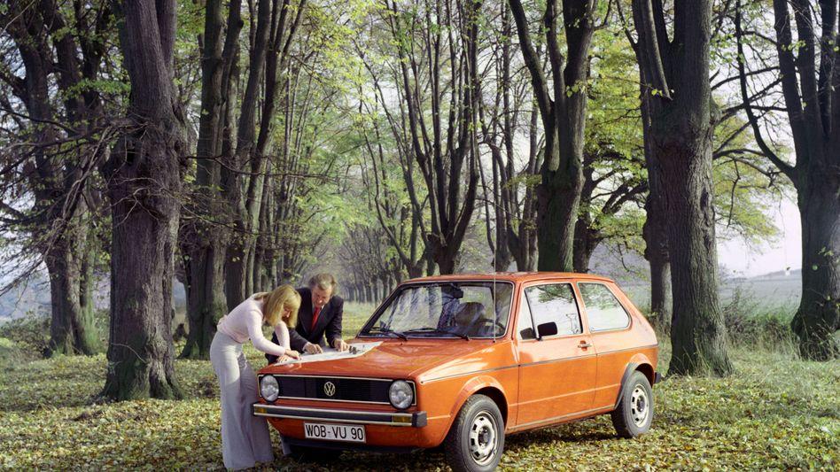Volkswagen-Dauerbrenner Golf: Fahrzeug für Generationen