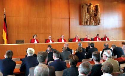 Bundesverfassungsgericht: Entscheidet in der kommenden Woche über die Erbschaftsteuerregeln