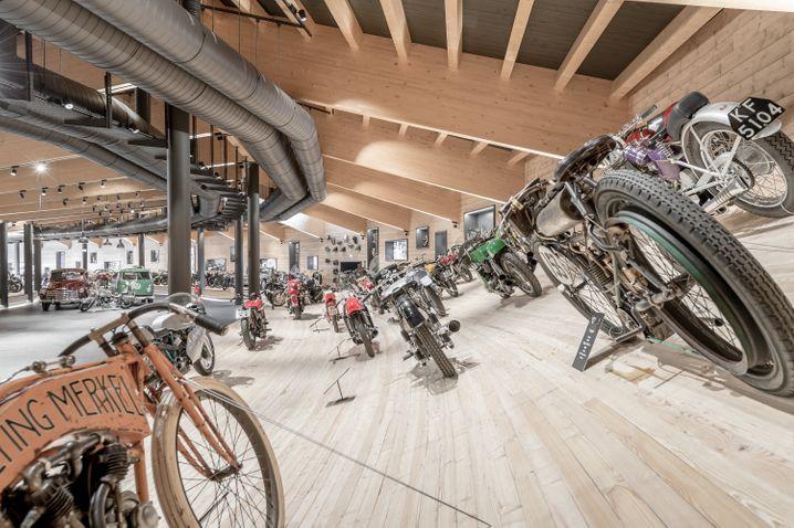 Große Ausstellung: Europas höchstgelegenes Motorrad-Museum, das Top Mountain Motorcycle Museum, befindet sich am Timmelsjoch.