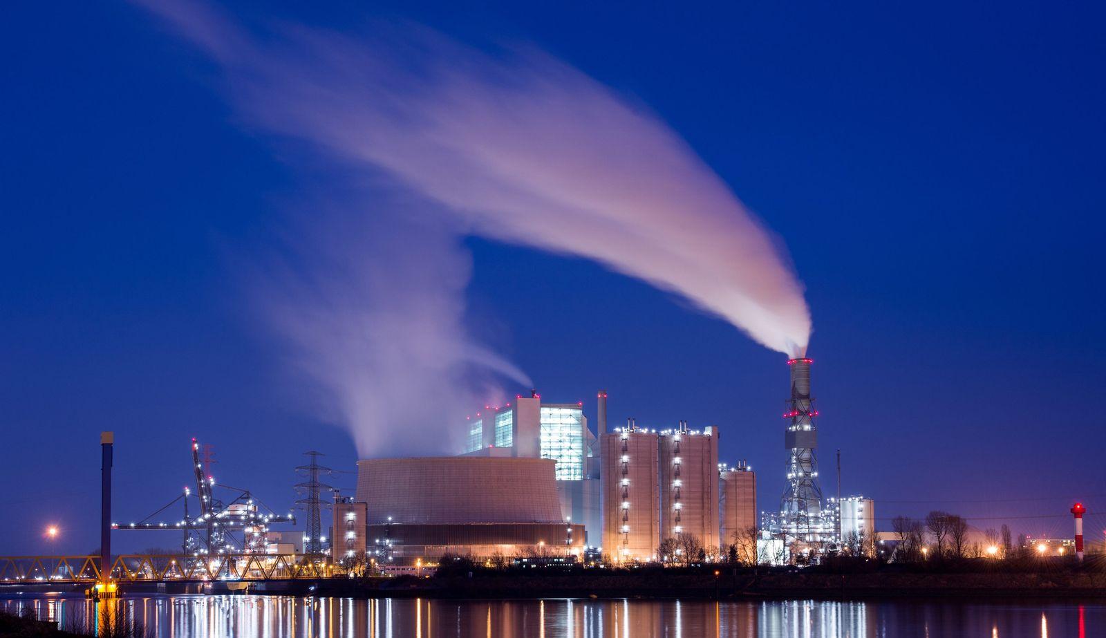 Kohlekraftwerk Moorburg / Hamburg