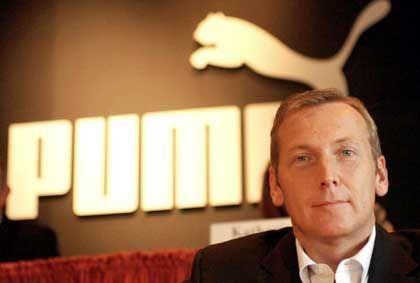 Lachender Dritter: Puma-Chef Jochen Zeitz könnte mit seinem Unternehmen in den Dax aufrücken, falls FMC in der Rangliste abrutscht