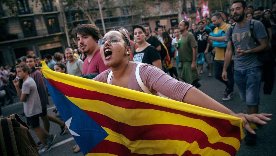 Proteste in Barcelona: Katalonien kommt nicht zur Ruhe