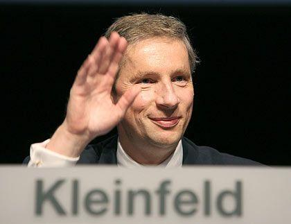 """Wehmut zum Abschied: Siemens-Chef Kleinfeld verlässt den Konzern """"mit vielen guten Erinnerungen"""""""