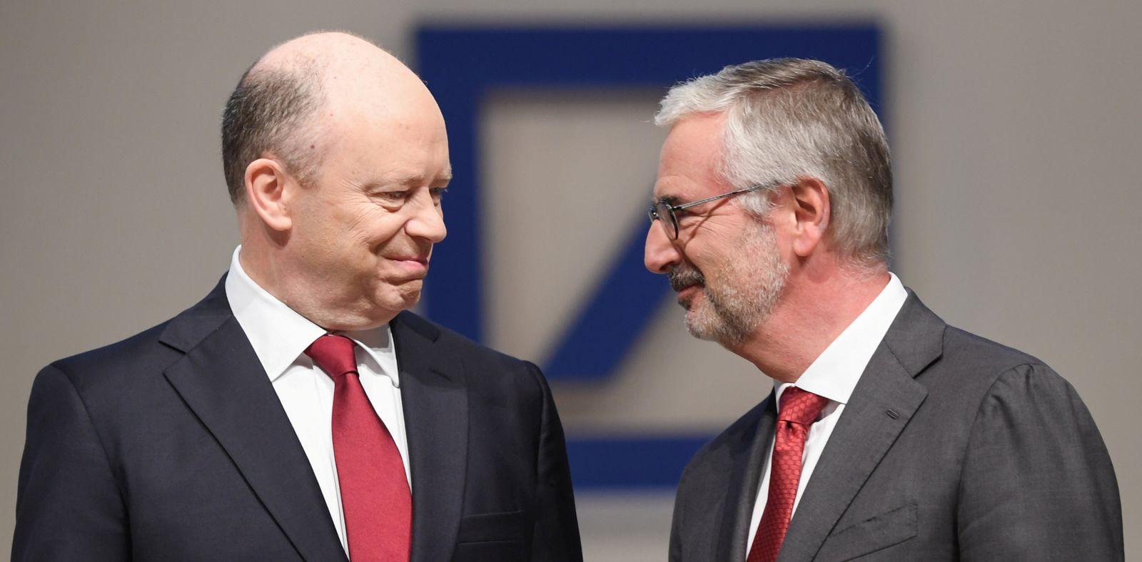 Deutsche Bank / John Cryan / Paul Achleitner