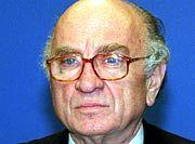 Sorge um die Entwicklung der Wirtschaftspolitik in Russland: Otto Graf Lambsdorff (76), deutscher Wirtschaftsminister von 1977 bis 1984