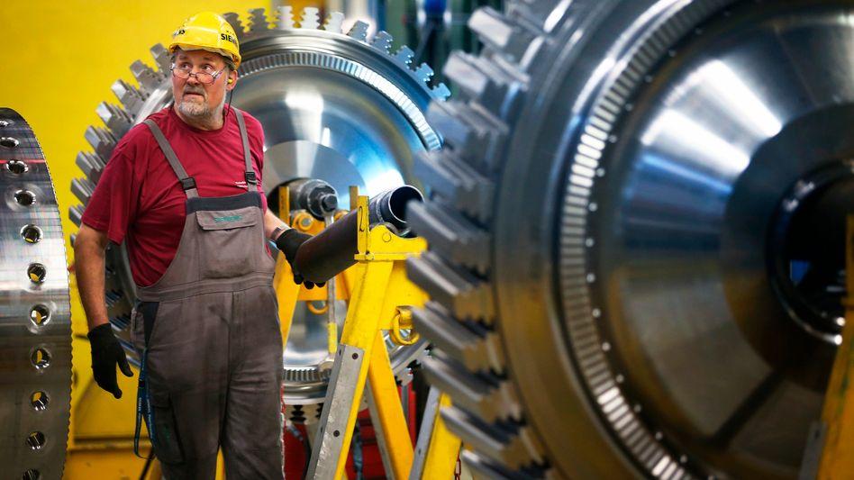 """""""Das Umfeld wird durch die Sanktionen weiter geschwächt"""": In Deutschland dürften vor allem mittelständische Maschinen- und Anlagenbauer die Sanktionen gegen Russland zu spüren bekommen"""