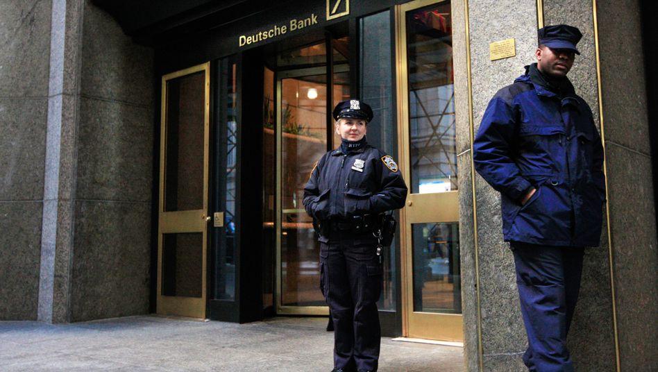 Deutsche Bank in New York City: Das Geldhaus wird gemeinsam mit neun weiteren Großbanken in den USA verklagt