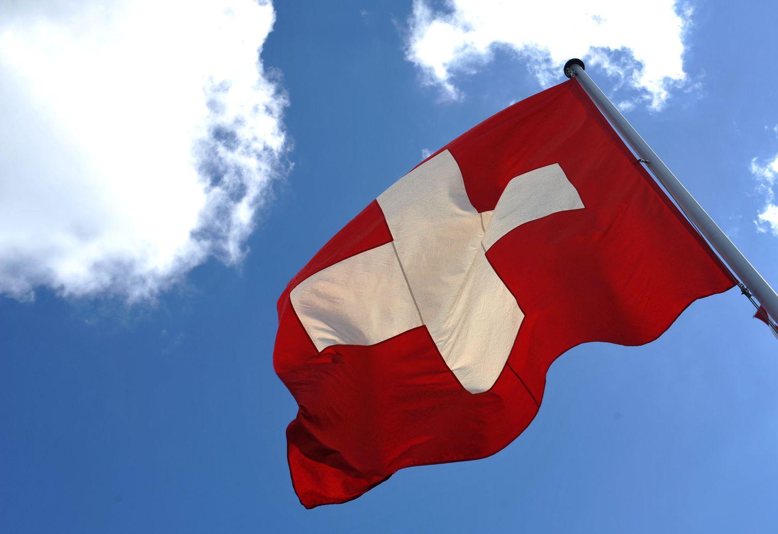 Schweiz/ Flagge
