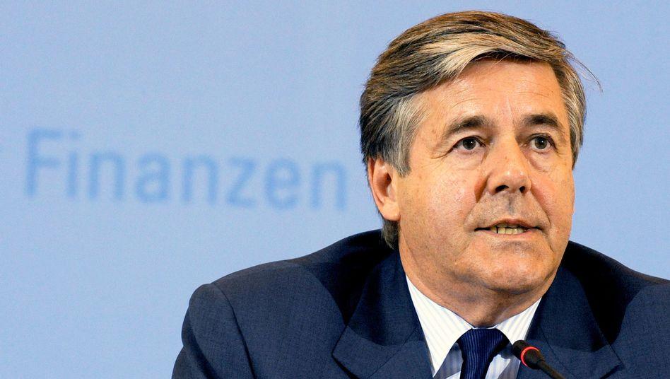 Ehrgeizig: Deutsche-Bank-Chef Josef Ackermann will in diesem Jahr ein Vorsteuerergebnis in Höhe von 10 Milliarden Euro präsentieren