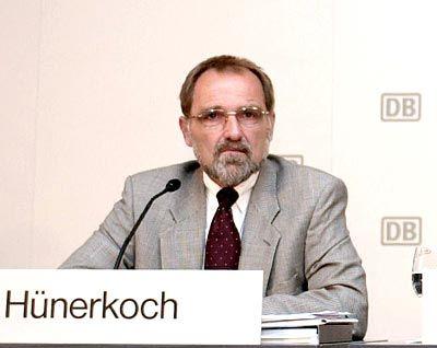 Knochenjob: Dieter Hünerkoch leitet die Bahn-Kommunikation nurnochg bis Ende Februar