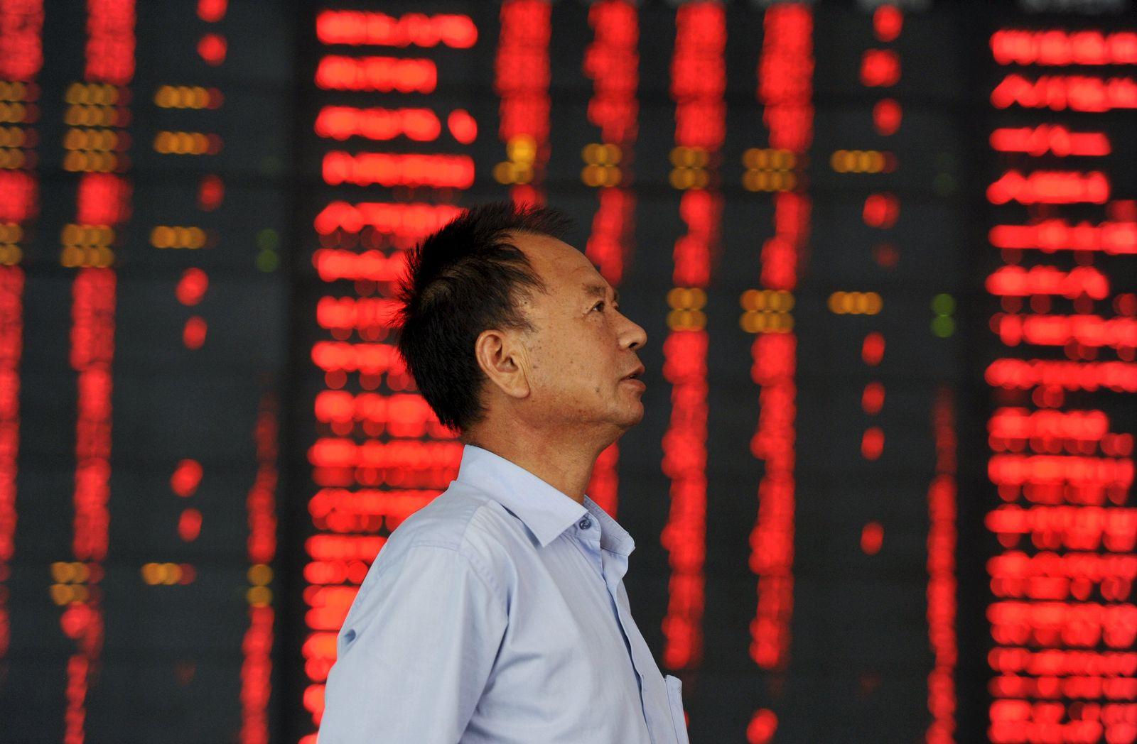 China Börse Händler