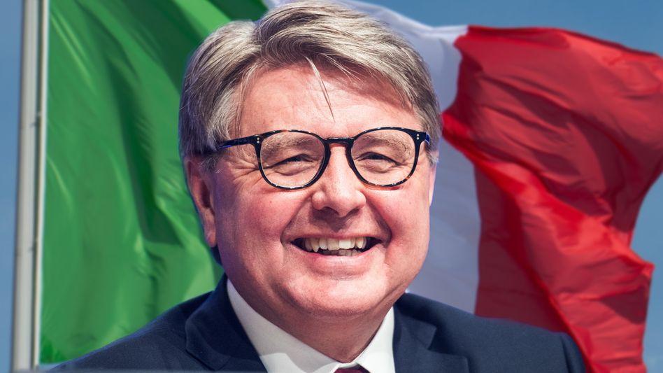 Auf dem Sprung: Börsen-Chef Theodor Weimer will die Mehrheit an der Borsa Italiana kaufen.