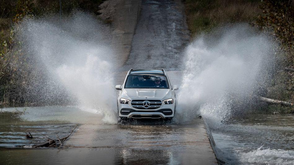 Mercedes-Benz GLE: Daimler droht ein Bußgeld wegen möglicher Abgas-Manipulationen