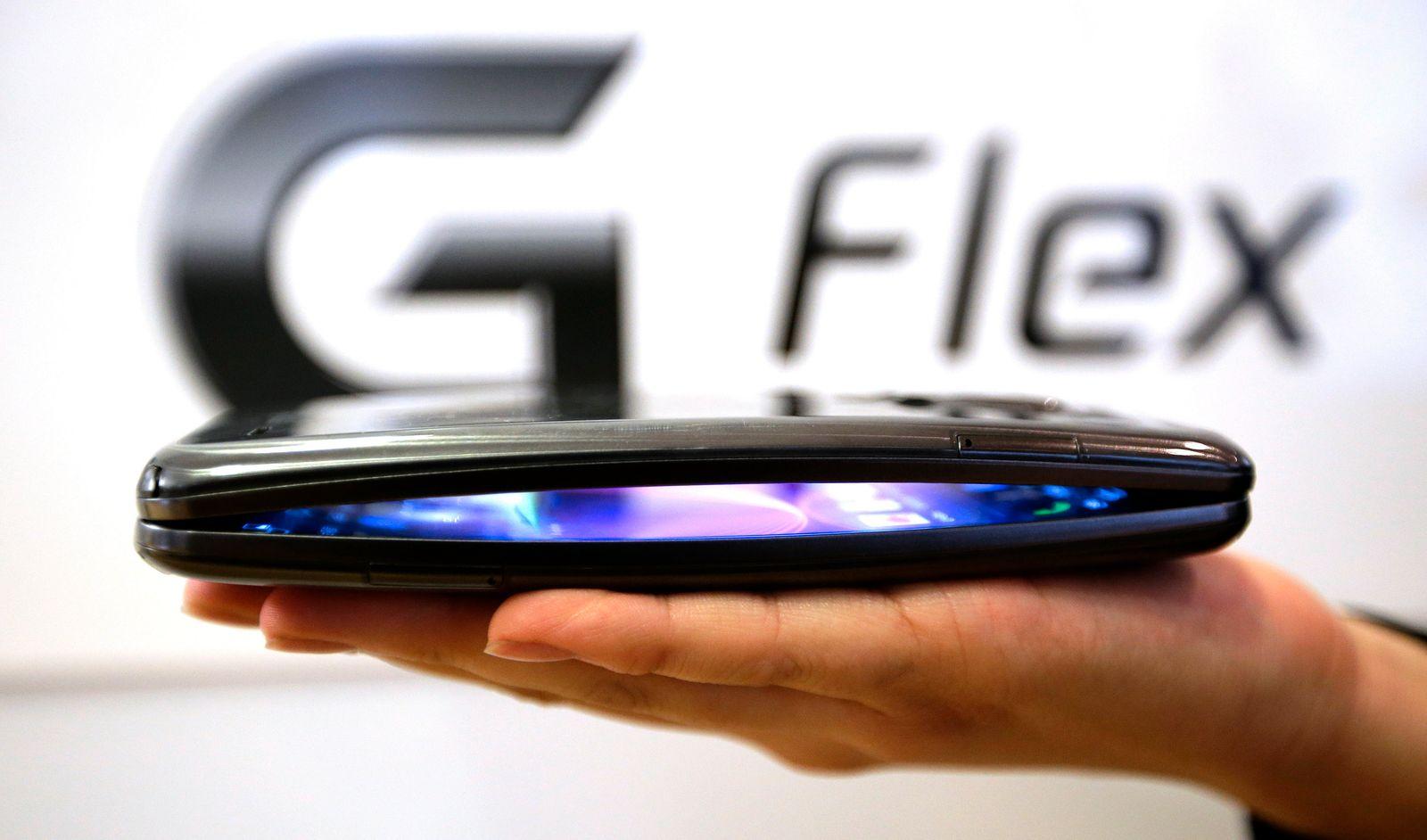 South Korea LG Curved Smartphone