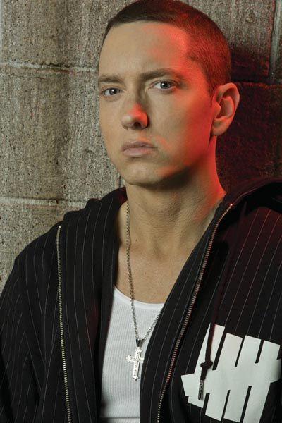 Universal-Zugpferd Eminem: Seine Musik gehört zum Flatrate-Angebot wie die von Aha, Rolling Stones, Eels oder Black Eyed Peas