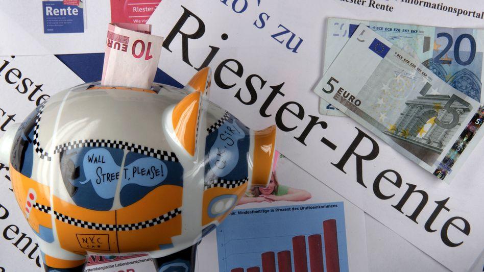 Riester-Rente: Bislang müssen Anbieter den vollen Erhalt der Beiträge garantieren