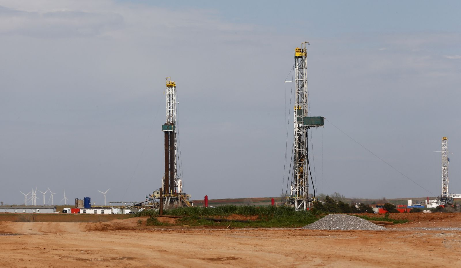 Oklahoma / oil drilling / fracking