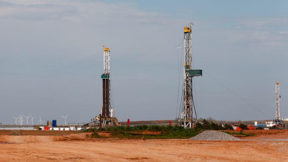 Fracking-Anlage in Oklahoma (USA): Jetzt will auch die Bundesregierung der umstrittenen Gasförderungen den Weg ebnen - unter Auflagen