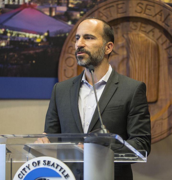 """""""Nichts davon hätte passieren dürfen"""" : Dara Khosrowshahi, neuer Uber-Chef, verurteilt die Vertuschung des Datenklaus entschieden"""