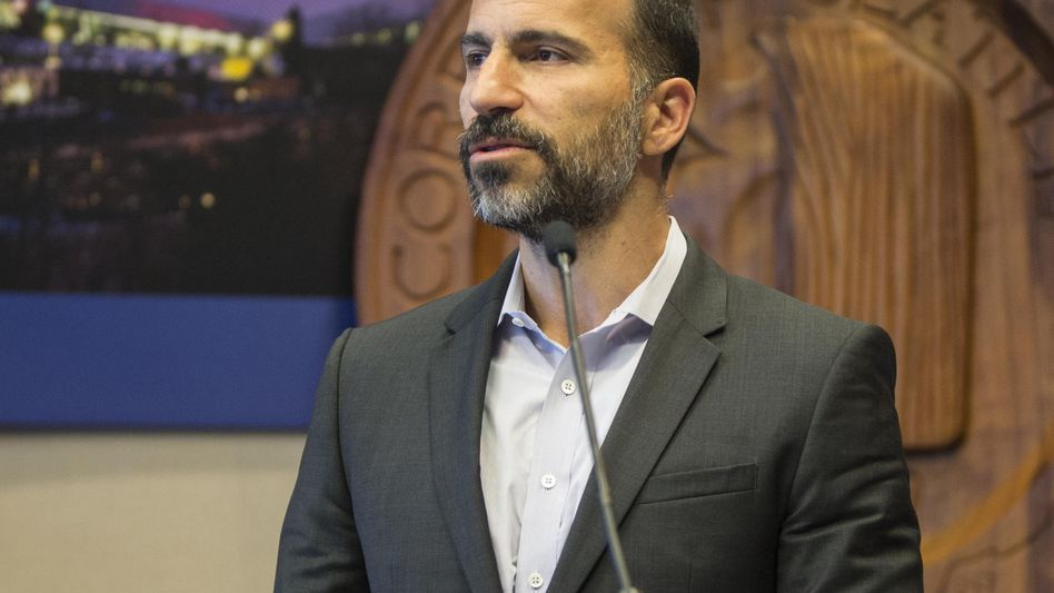 Dara Khosrowshahi will bei Uber aufräumen und stellt den von vielen Investoren erwarteten Börsengang in Aussicht