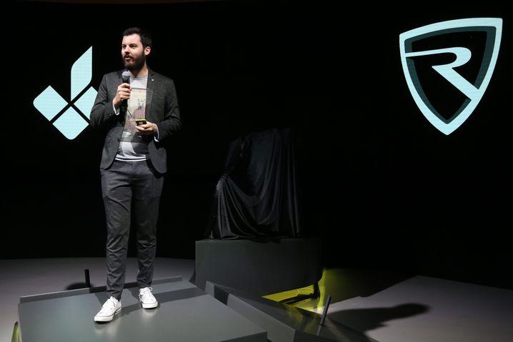 E-Voluzzer: Mate Rimac kann Showbühne