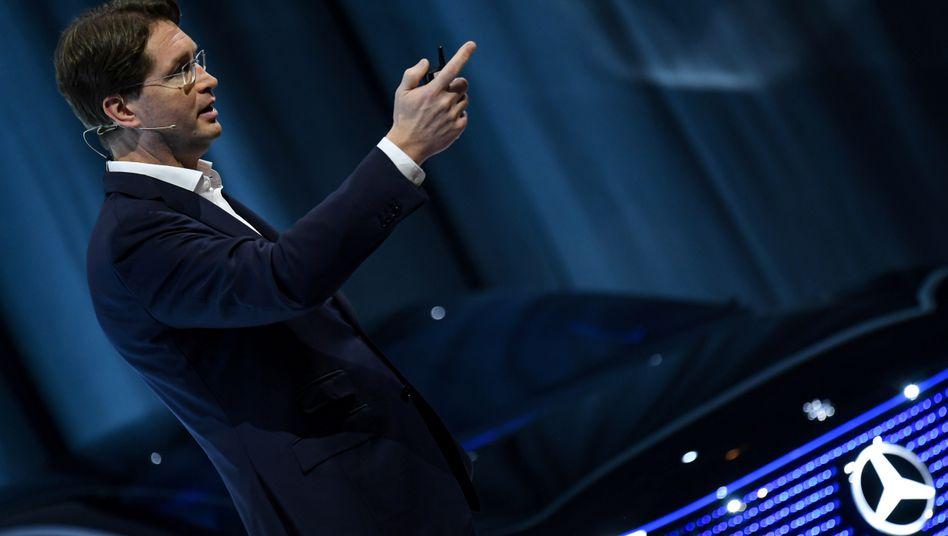 Daimler-Chef Ola Källenius will eine Auto-Kaufprämie über alle Segmente - und das muss schnell gehen, fordert er