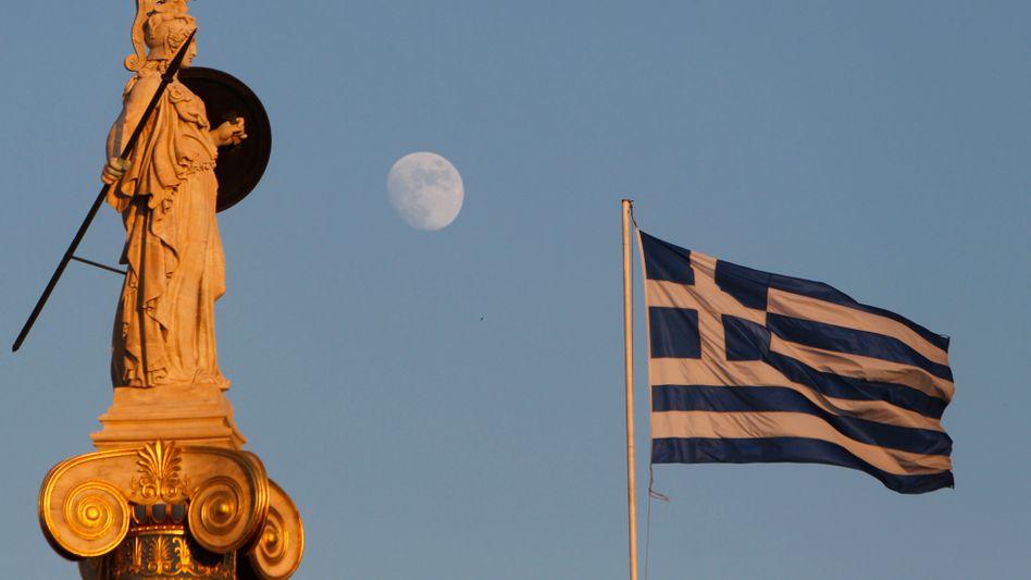 Göttin Athena: Finanzkrise schwelt weiter