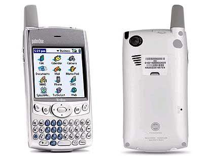Marktführer auf einem schrumpfenden Markt: Smartphone Treo 600 von Palm