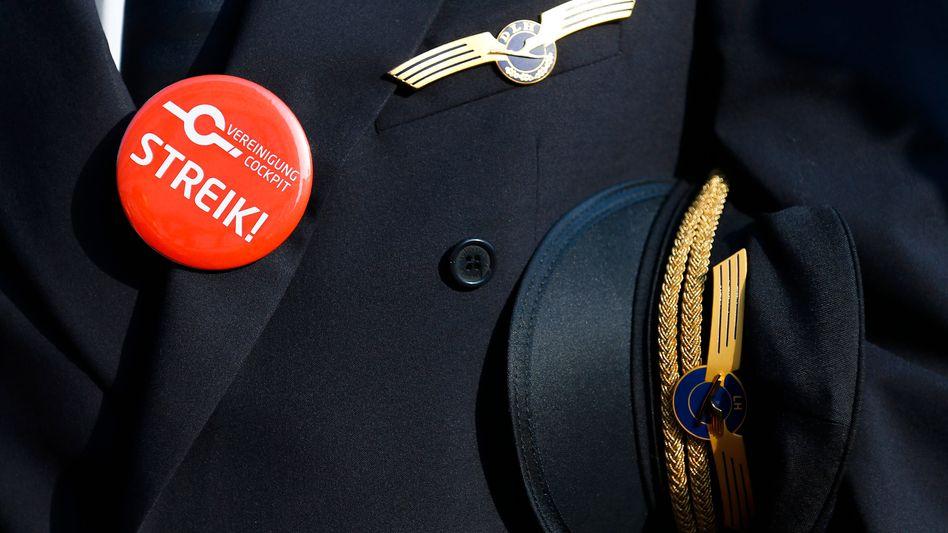 Lufthansapiloten kämpfen für ihre bezahlte Vorruhestandsregelung, die das Management ändern will