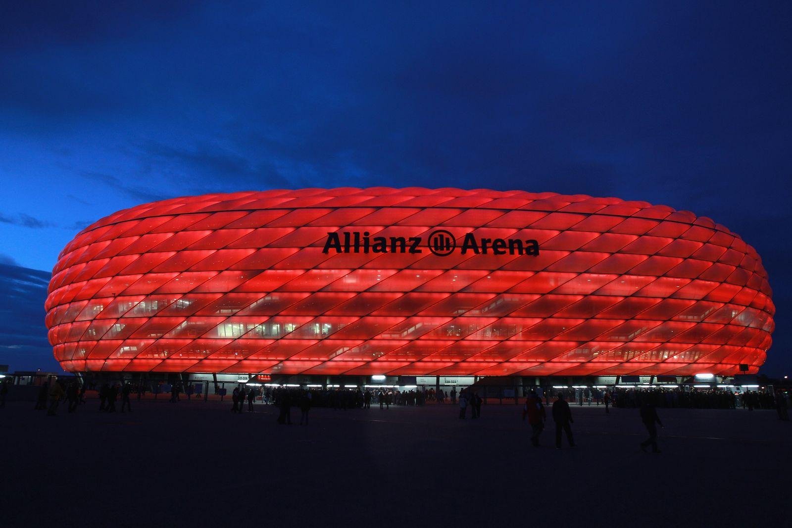 Fußballstadien / Stadion / 1. Bundesliga 2012 / Allianz Arena