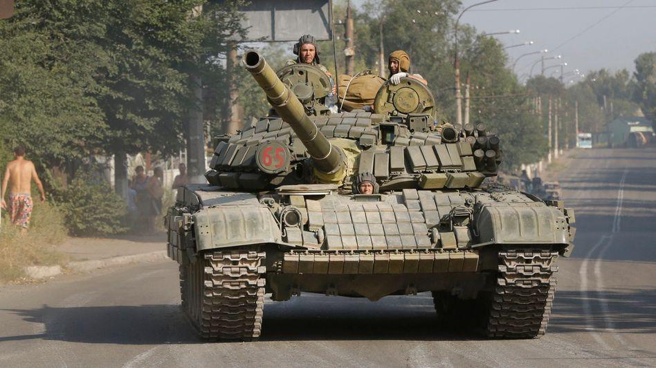 Pro-russische Rebellen in der Ostukraine: Direkte Unterstützung durch russische Soldaten?