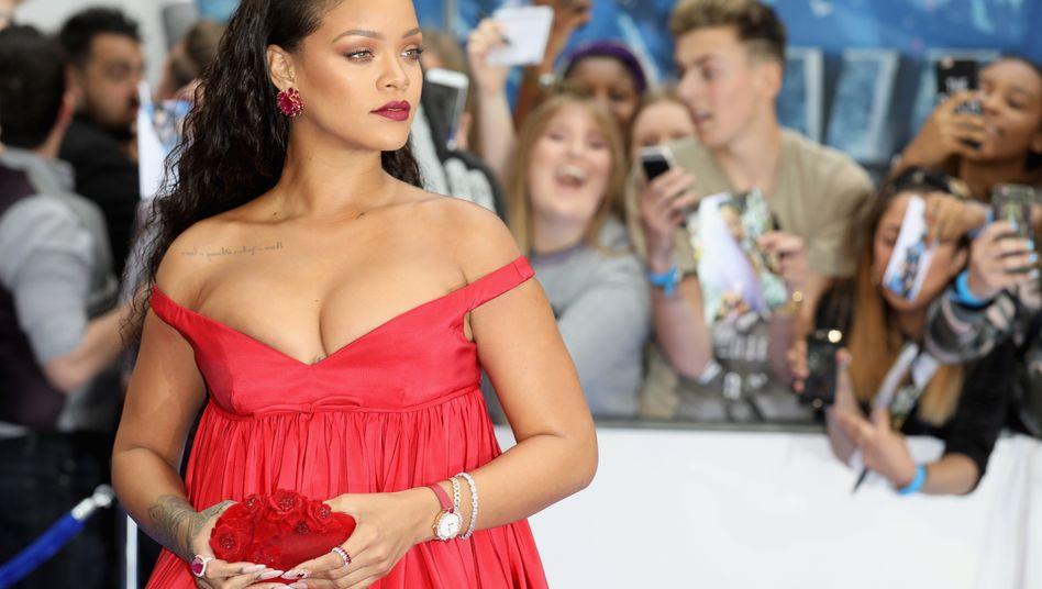 Popstar Rihanna