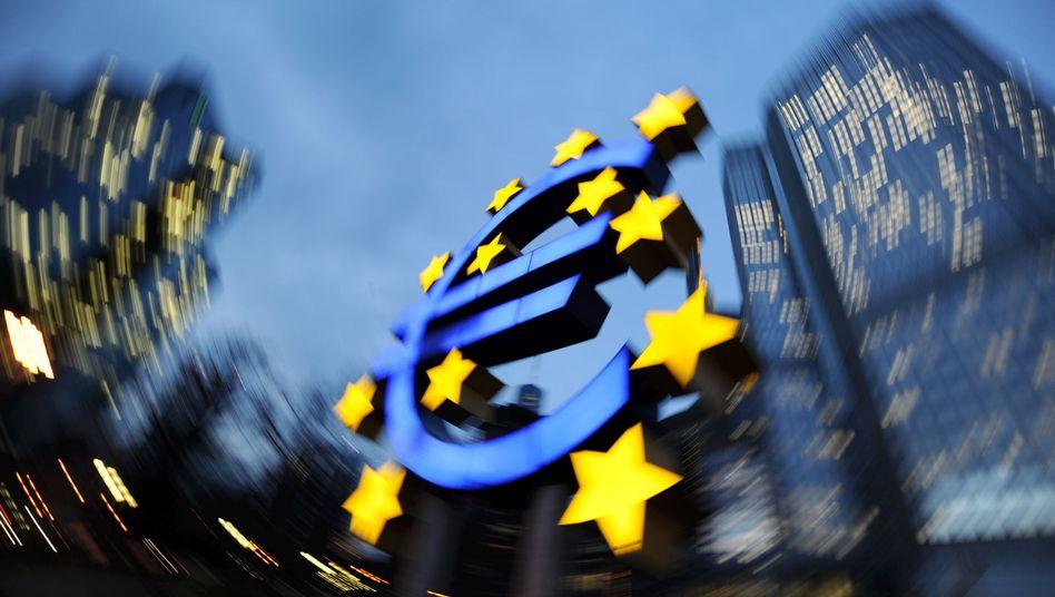 Risiko EZB: Die Europäische Zentralbank gilt als Hüterin der Preisstabilität. Ihre expansive Geldpolitik stellt aber ein großes Inflationsrisiko dar