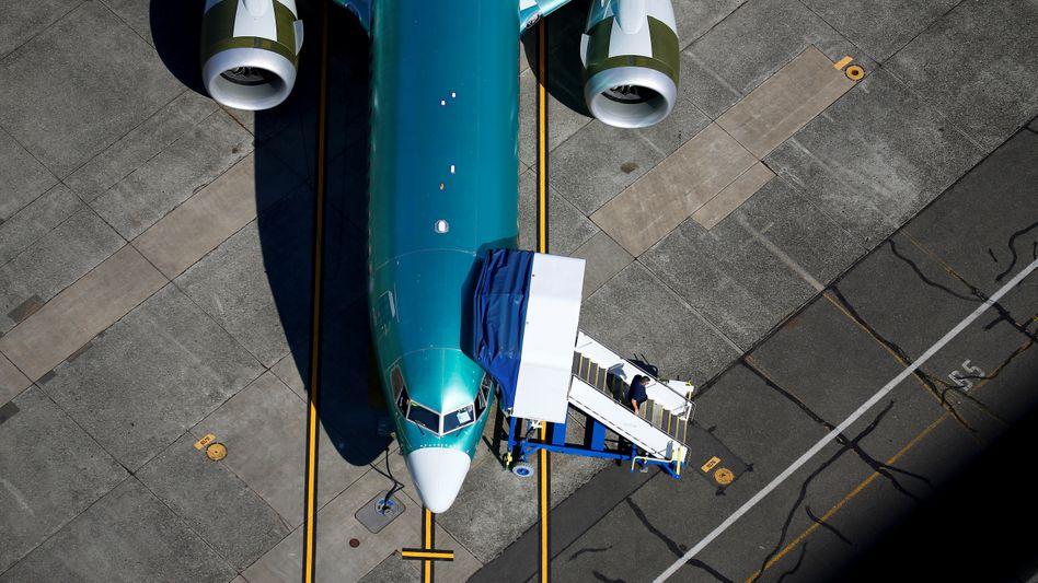 Debakel, Stufe eins: Der Krisenflieger Boeing 737 Max ließ das Geschäft schon 2019 einbrechen. Dann kam die Corona-Krise noch hinzu.