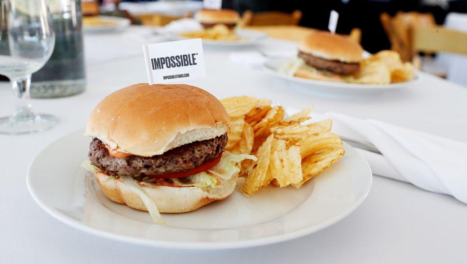 Vegane Burger: Impossible Foods setzt ebenso wie Konkurrent Beyond Meat auf rasante Expansion
