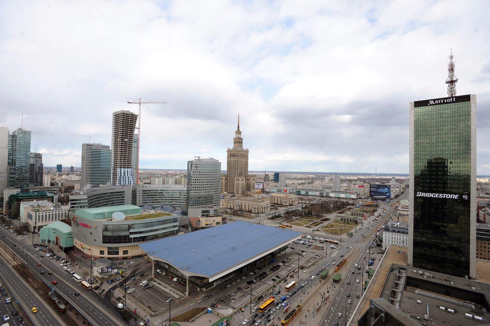 Warschau / Polen / Stadtansicht / Panorama