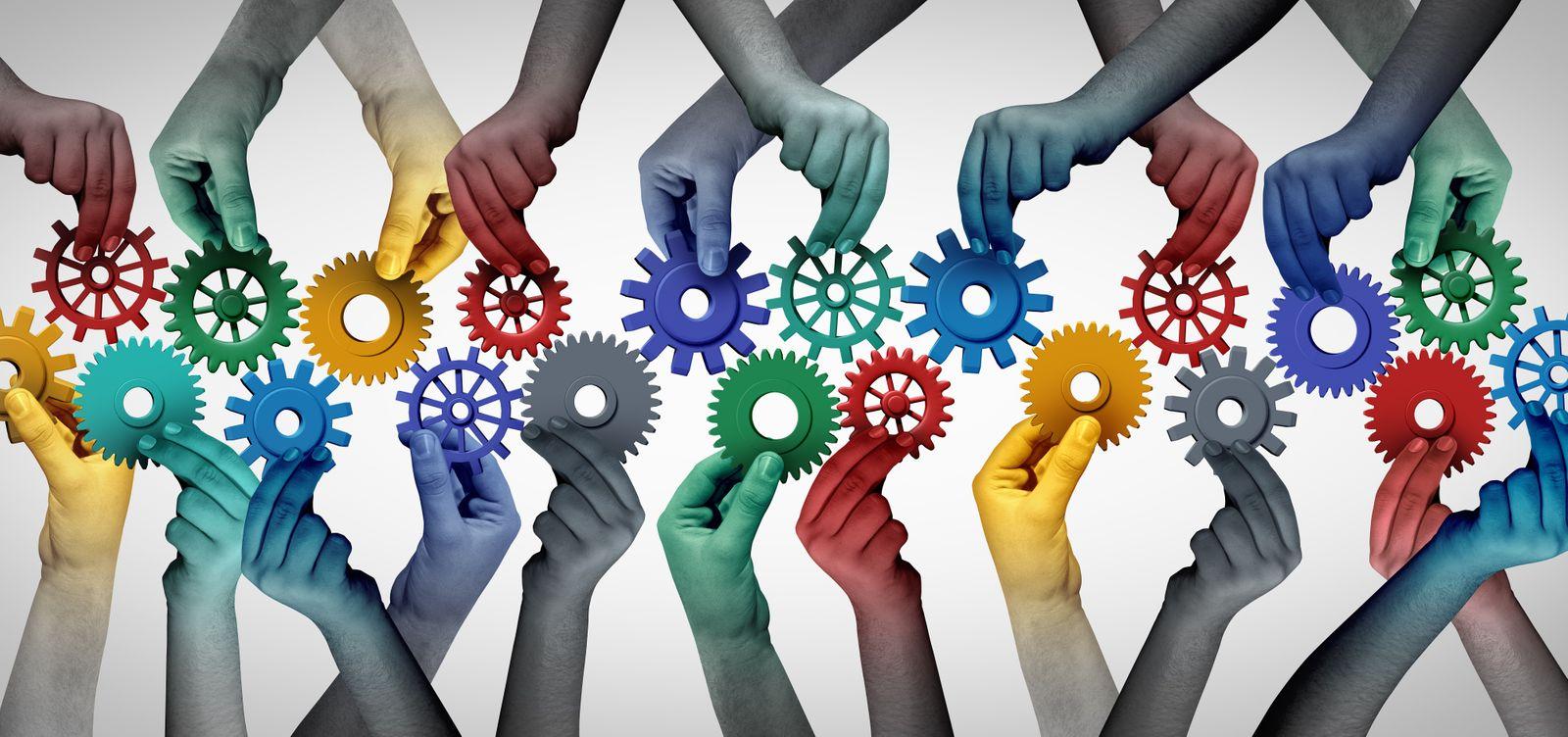 Team Collaboration Concept