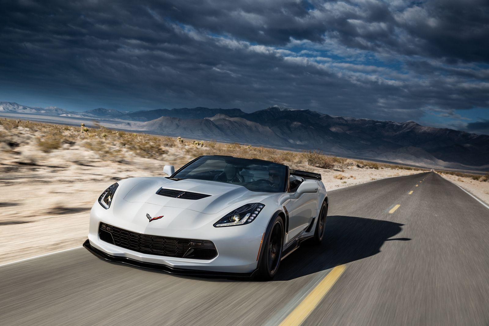 EINMALIGE VERWENDUNG Chevrolet / Corvette / Z06 Convertible