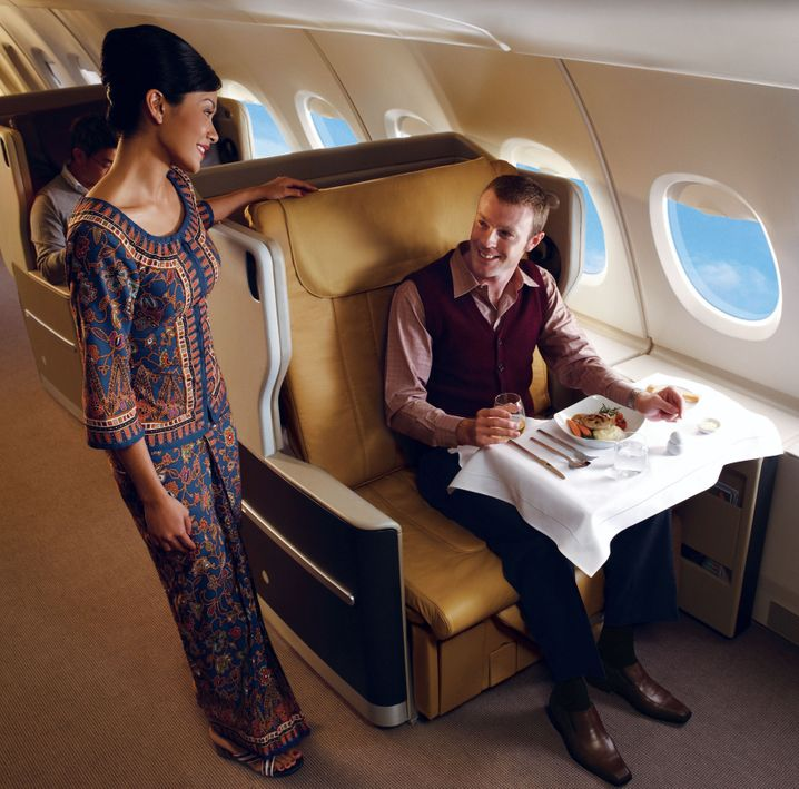 Mehr Platz bei Singapore Airlines in der Business Class