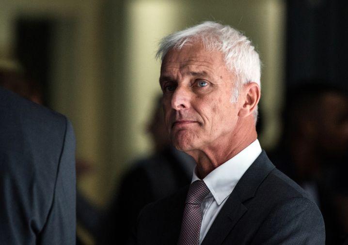 Matthias Müller: Der einstige Volkswagen-Konzernchef berät den Autobauer nun noch bis Februar 2020
