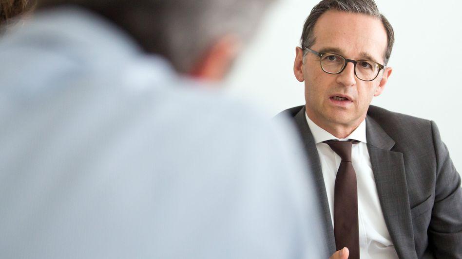 Soll Außenminister werden: Der bisherige Bundesjustizminister Heiko Maas