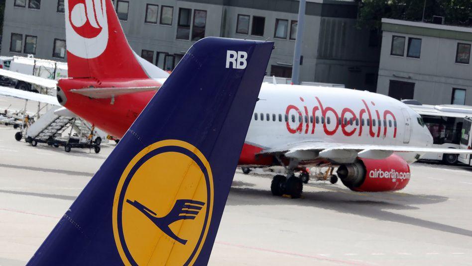 Die Lufthansa greift nach Air Berlin