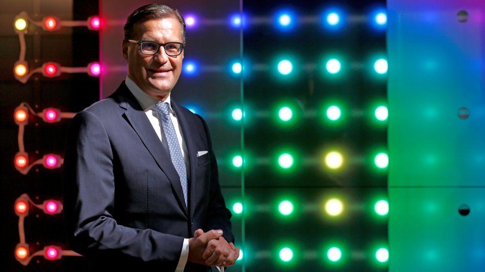 Chef in schwierigen Zeiten: Osram-CEO Olaf Berlien.