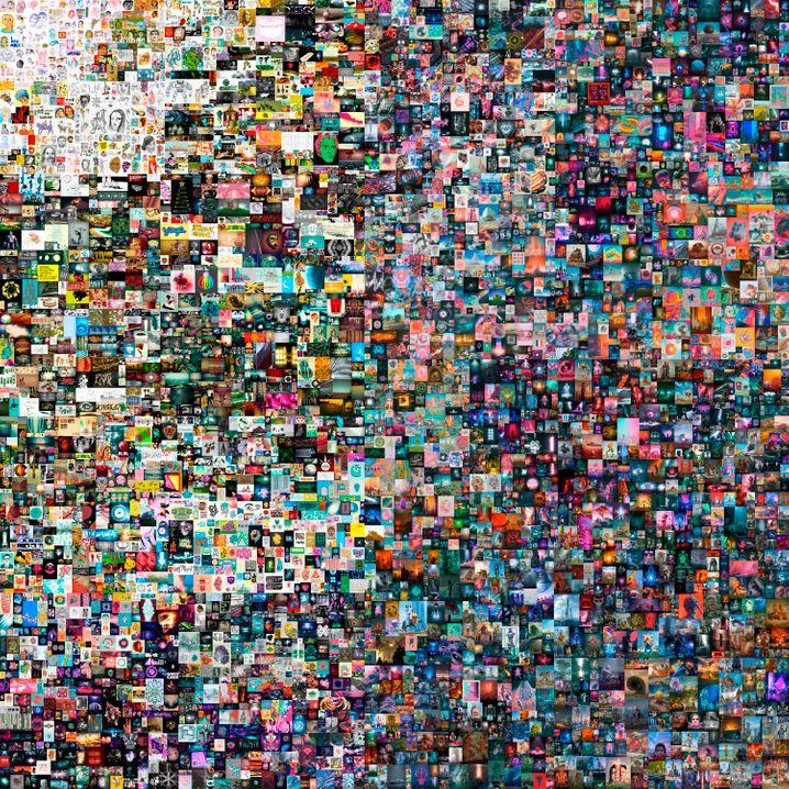 """""""Everydays - The First 5000 Days"""": Mit seiner Digitalcollage wurde """"Beeple"""" zum neuen Kunststar"""